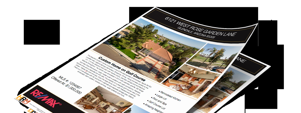 Luxury Real Estate Flyers Awesome Luxury Real Estate Graphy Flyer & Brochure Printing Phoenix