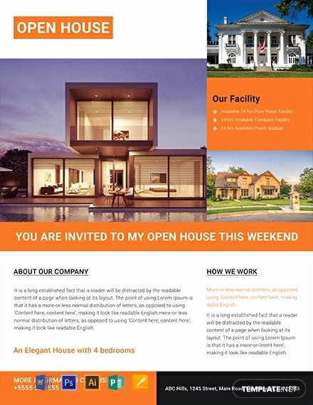 Luxury Real Estate Flyers Beautiful 26 Free Real Estate Flyer Templates Word Psd Indesign Apple Pages