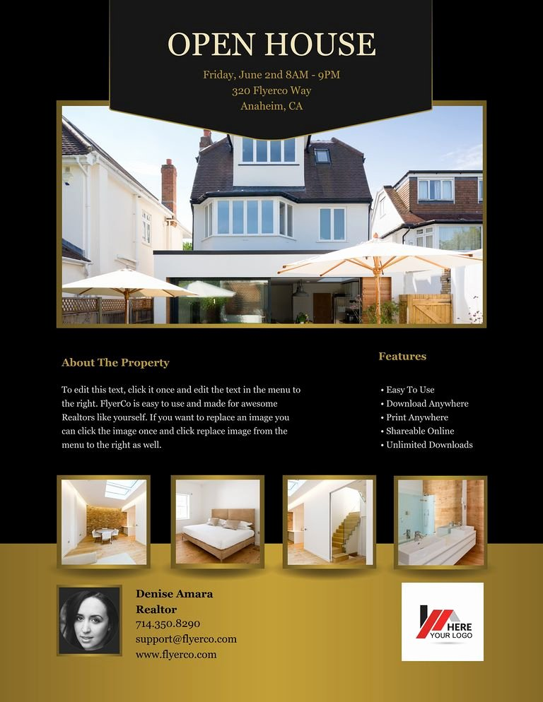 Luxury Real Estate Flyers Fresh Flyerco Flyer Maker Luxury Collection