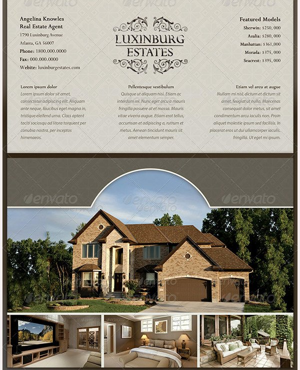 Luxury Real Estate Flyers New 35 Best Premium Real Estate Marketing Flyer Templates for Download