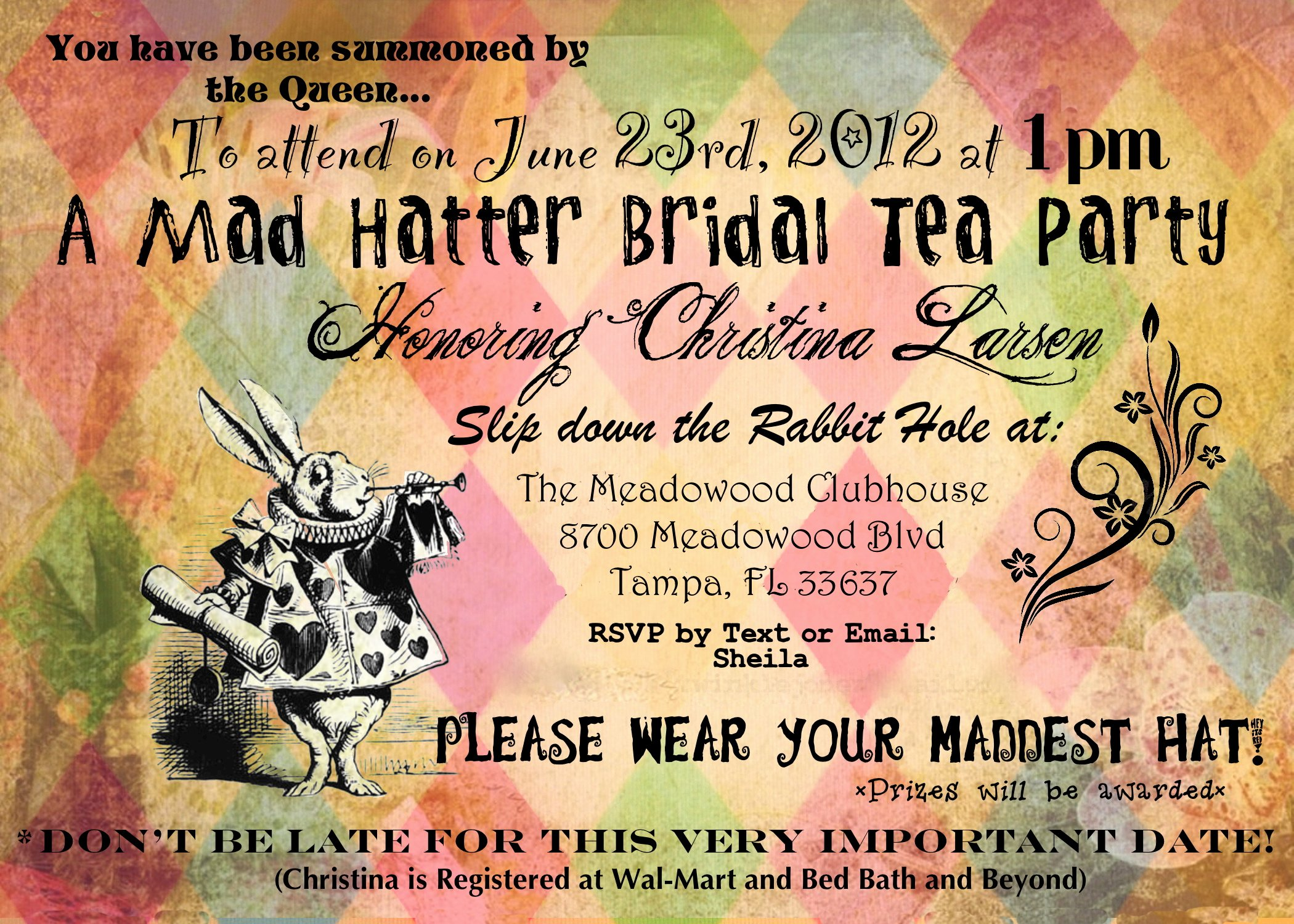 Mad Hatters Tea Party Invite Inspirational Things My Bookish Bucket List
