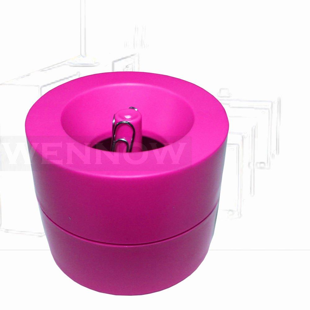 Magnetic Paper Clip Holder Unique Pink Magnetic Paper Clips Holder 50 Pc Silver Paper Clips