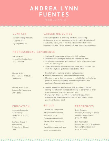 Make Up Artist Resume New Dark Grey Simple Academic Resume Templates by Canva