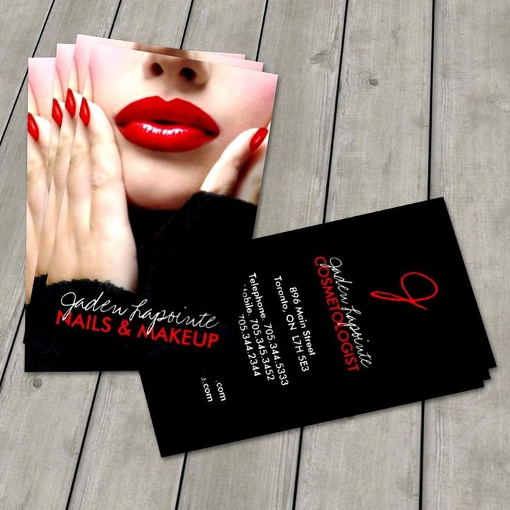 Makeup Artist Business Card Best Of 92 Best Images About Makeup Artist Business Cards On Pinterest