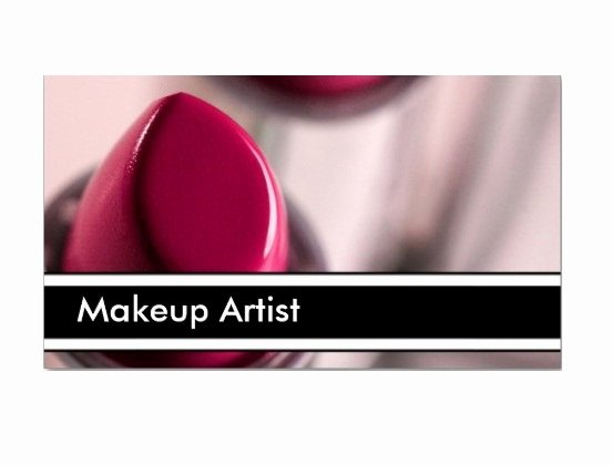 Makeup Artist Business Card Best Of Makeup Artist Business Card Samples Startupguys