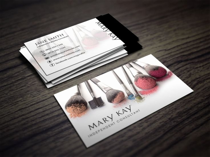 Makeup Artist Business Card Elegant Best 25 Makeup Business Cards Ideas On Pinterest
