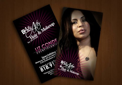 Makeup Artist Business Cards Ideas Elegant 14 Make Up Artist Business Card Examples Mow Design