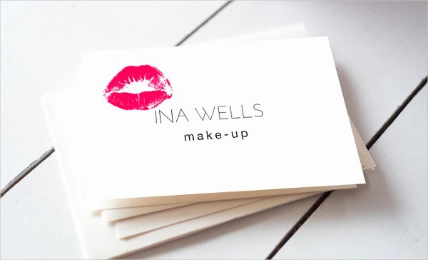 Makeup Artist Business Cards Inspirational 15 Makeup Artist Business Cards In Psd Vector Eps Ai Word