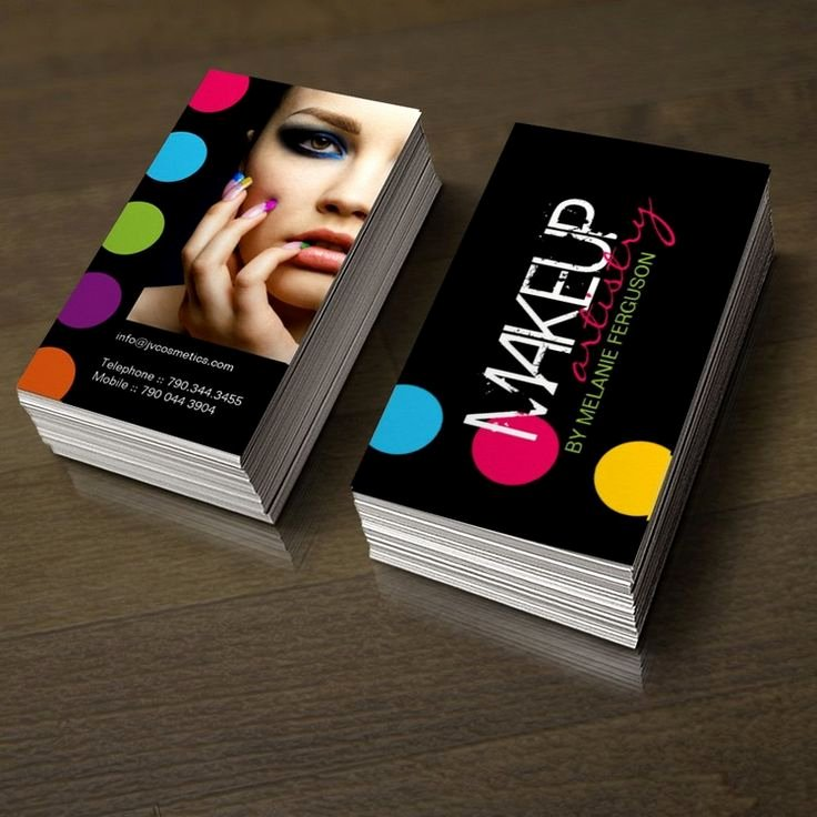 Makeup Artist Business Cards Lovely 1000 Images About Makeup Artist Business Cards On Pinterest