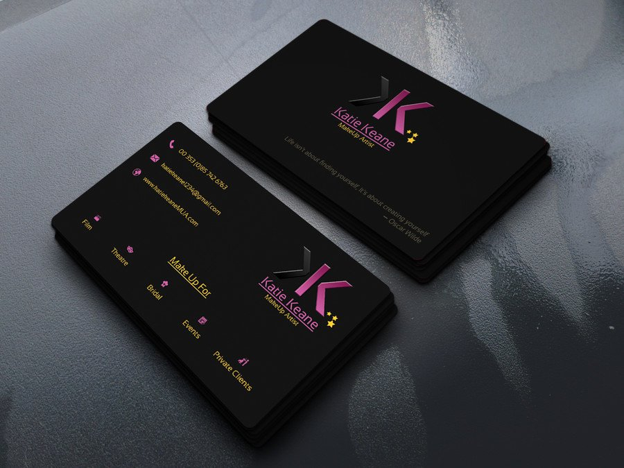 Makeup Artist Business Cards Lovely Makeup Artist Business Cards