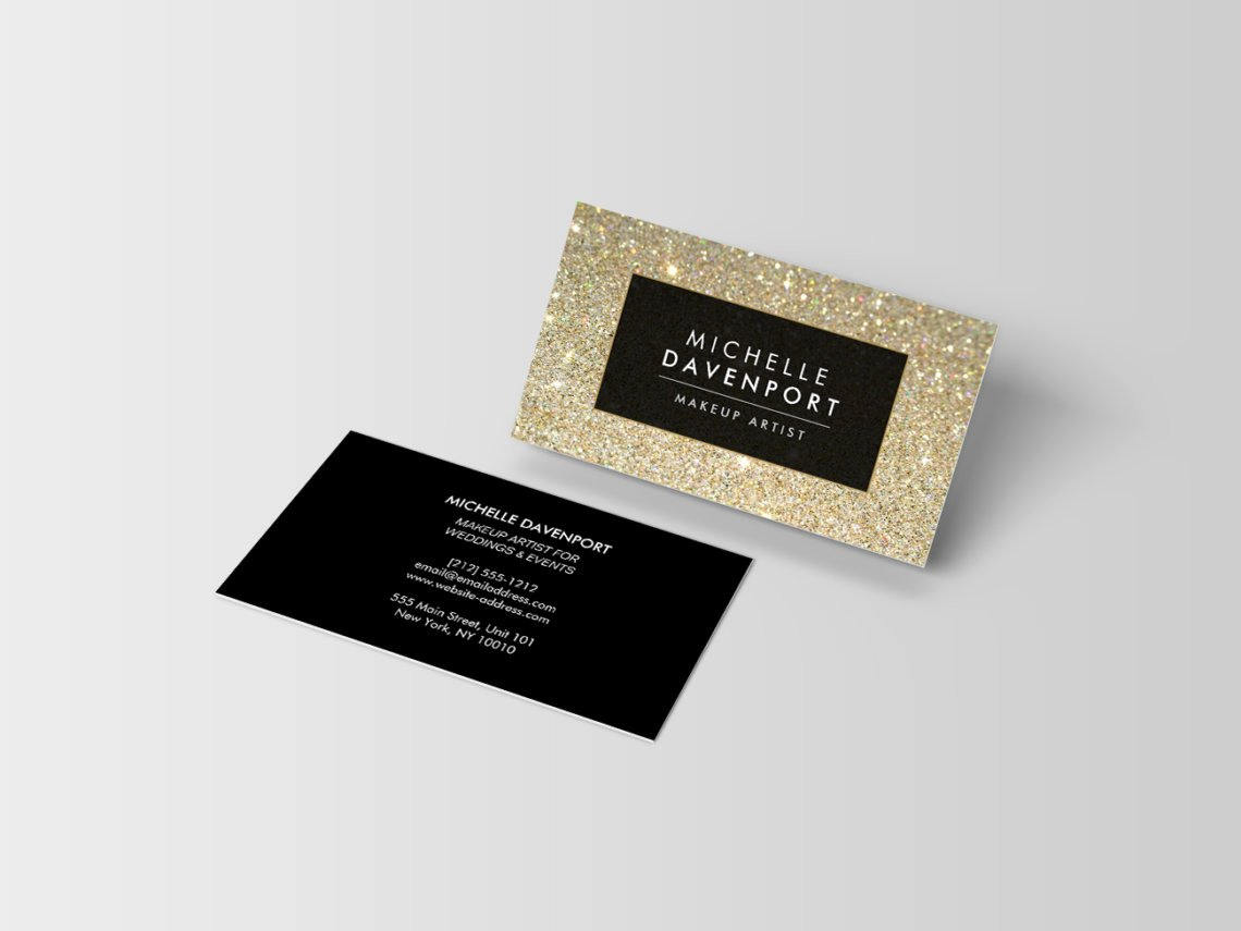 Makeup Artist Business Cards Luxury 15 Trendy and Chic Business Cards that Will Your Customers attention J32 Design