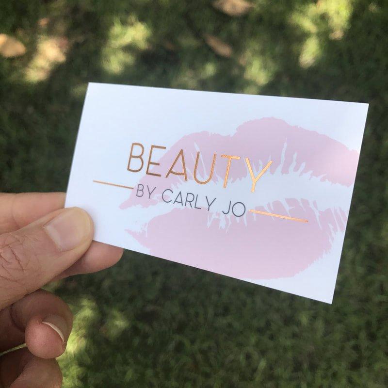 Makeup Artist Business Cards New Makeup Artist Business Cards Fancy Gold Foil Business Cards