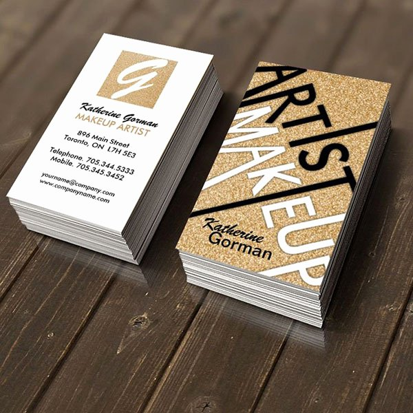 Makeup Artist Bussiness Cards Inspirational 30 Cool Creative Business Card Design Ideas 2014 Web & Graphic Design