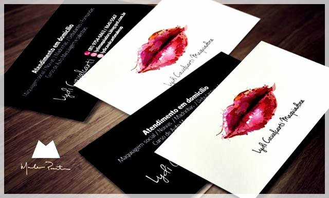 Makeup Artist Bussiness Cards Lovely Makeup Artist Bussiness Cards Iwantings