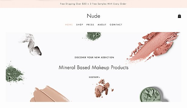 Makeup Artist Website Templates Beautiful Health & Beauty Website Templates Line Store