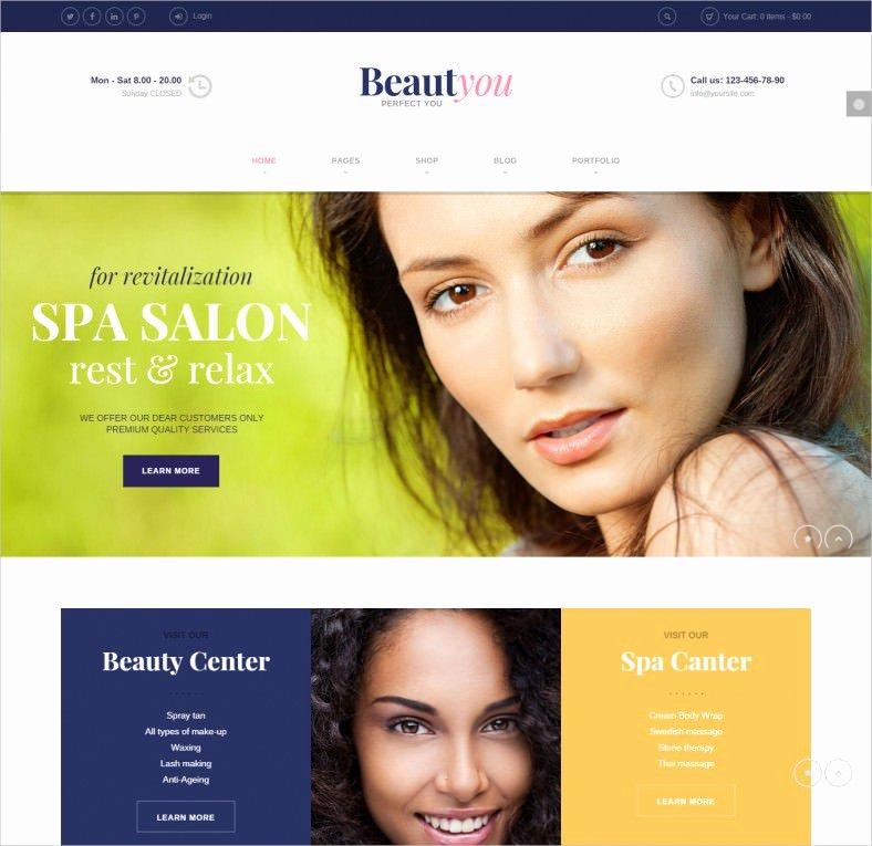 Makeup Artist Website Templates Best Of 10 Best Makeup Artists Website Templates Free & Premium themes