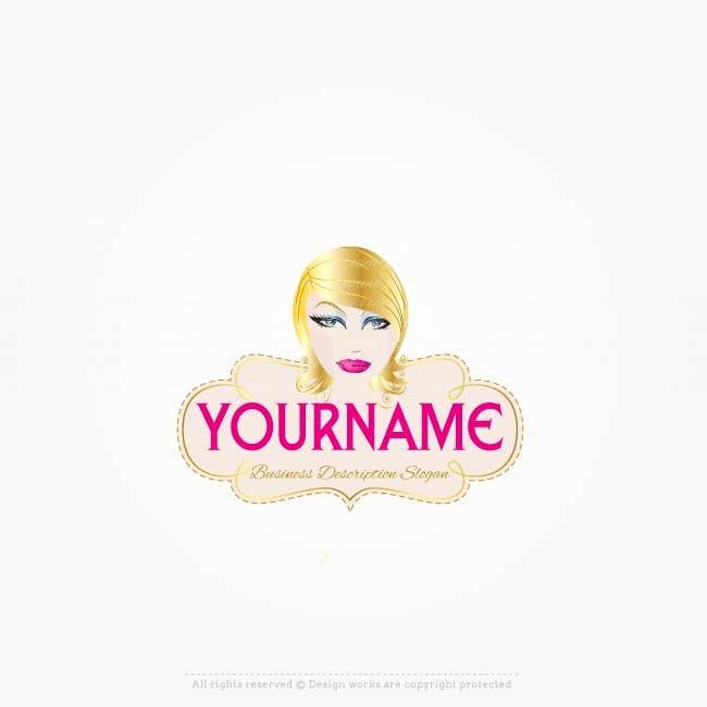 logo online makeup artist logo template