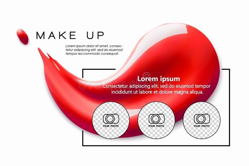 Makeup Artist Website Templates Inspirational Make Up Artist Business Card Template Stock Illustration Illustration Of Hearts Modern