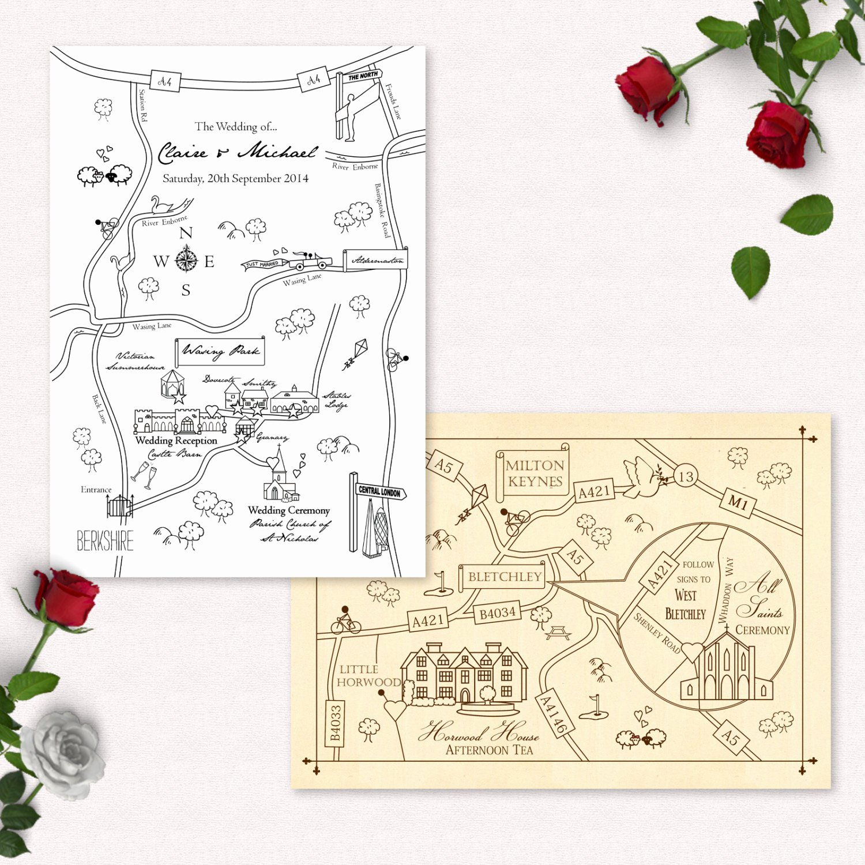 Maps for Wedding Invitations Templates Elegant Printable Custom Map Wedding Invitation Save the Date or Info