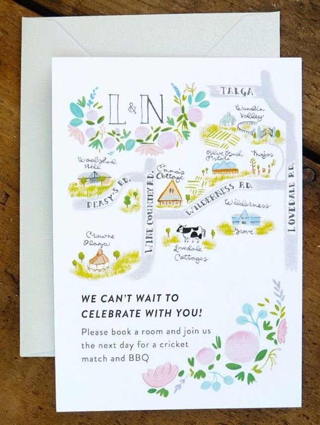 Maps for Wedding Invitations Templates Inspirational 19 Map Inspired Wedding Invitations Wedding