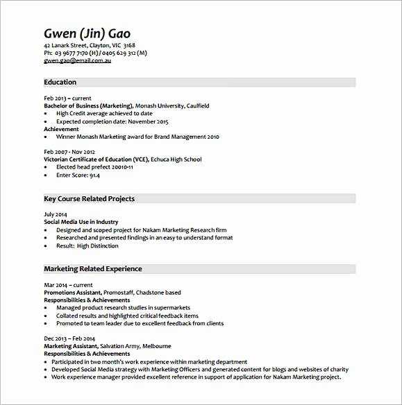 Market Research Analyst Resume Elegant Marketing Analyst Resume Sample