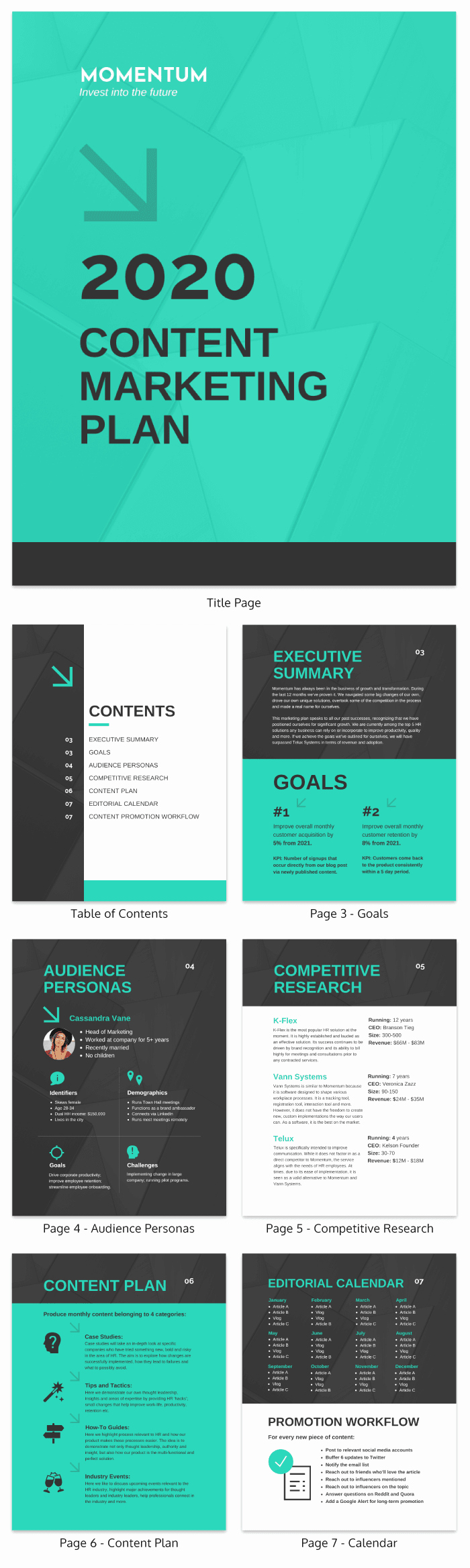 Marketing One Sheet Template Best Of Content Marketing Proposal Template Venngage