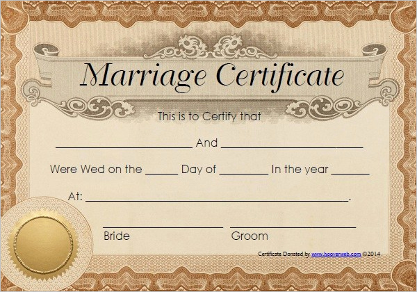 Marriage Certificate Template Microsoft Word Best Of Certificate Templates Blank Marriage Certificate Templatereference Letters Words Reference
