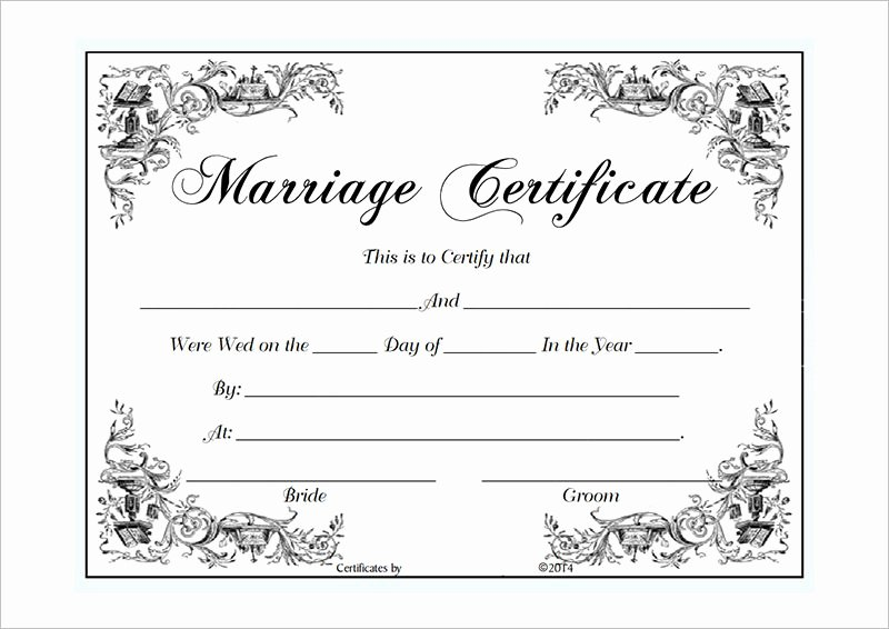 Marriage Certificate Template Microsoft Word New Marriage Certificate Template Microsoft Word Selimtd Marriage Contract