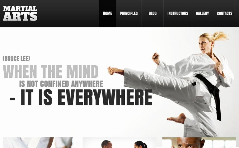 Martial Arts Wordpress theme Awesome 20 Best Sports Wordpress themes for Sports Websites 2017