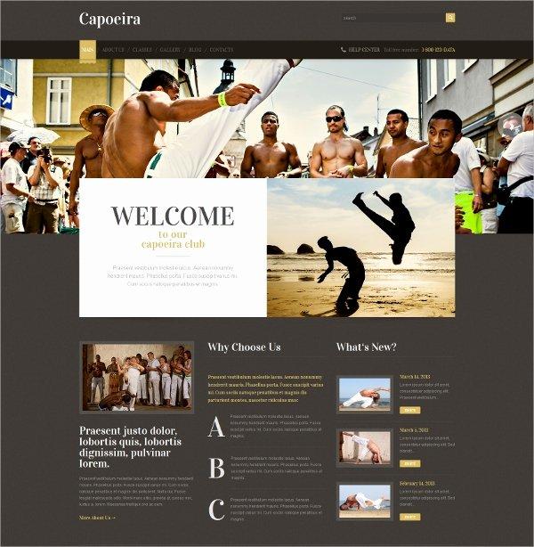 Martial Arts Wordpress theme Beautiful 14 Martial Arts Wordpress themes & Templates