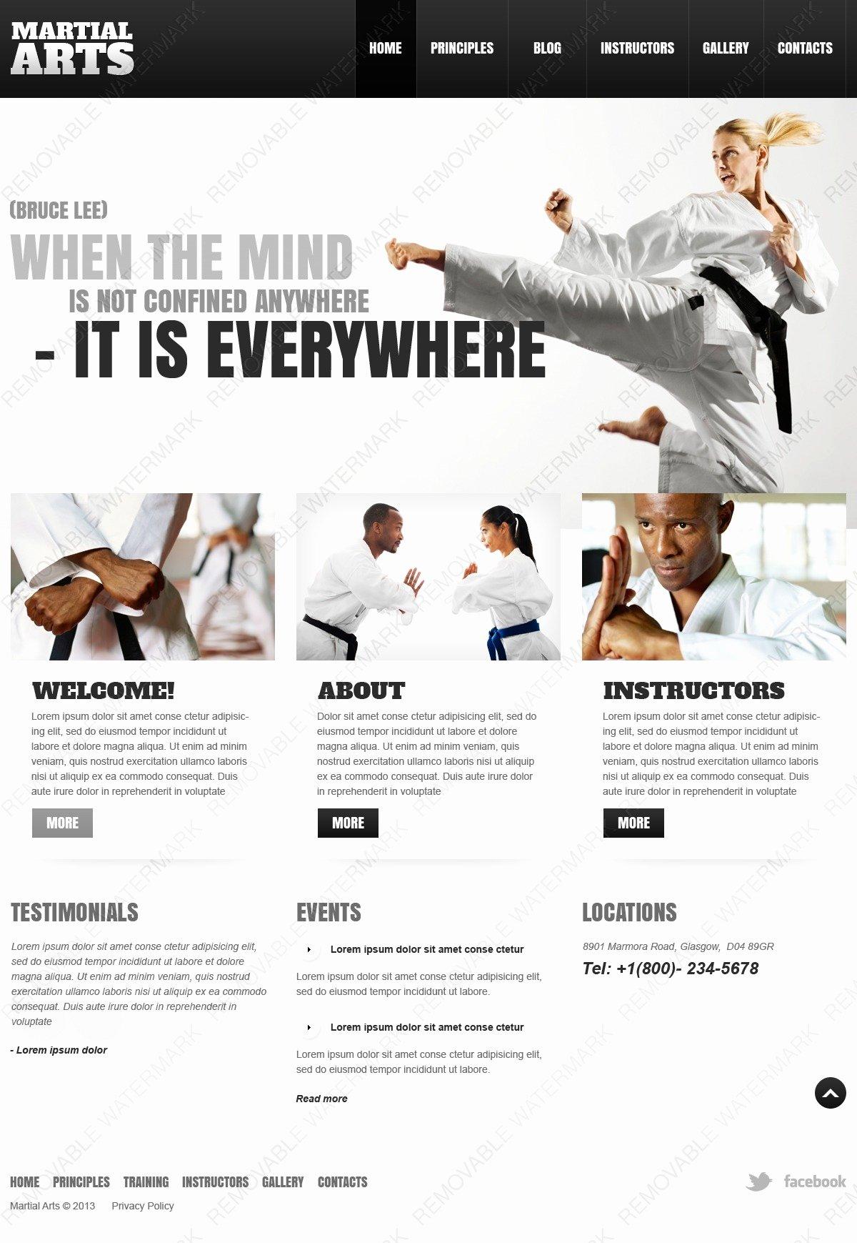 Martial Arts Wordpress theme Beautiful Martial Arts Wordpress theme by Wt Wordpress themes