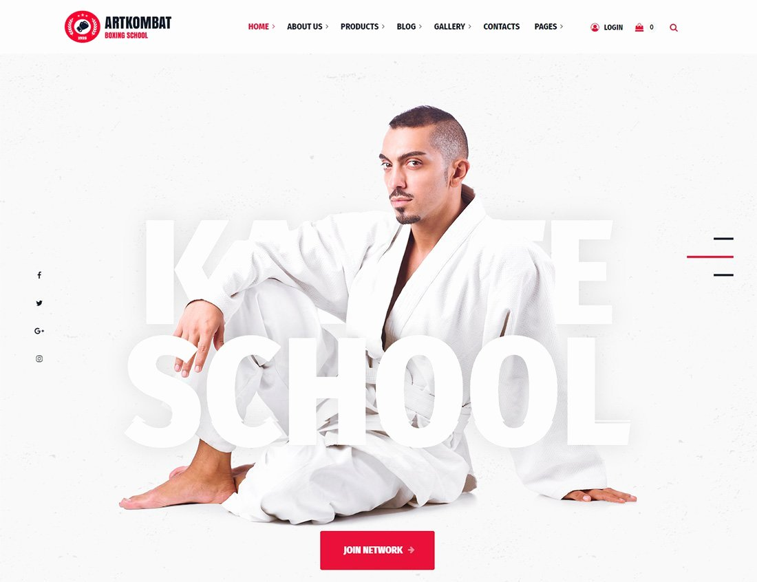 Martial Arts Wordpress theme Inspirational 10 Best Martial Arts Wordpress themes 2019 Colorlib
