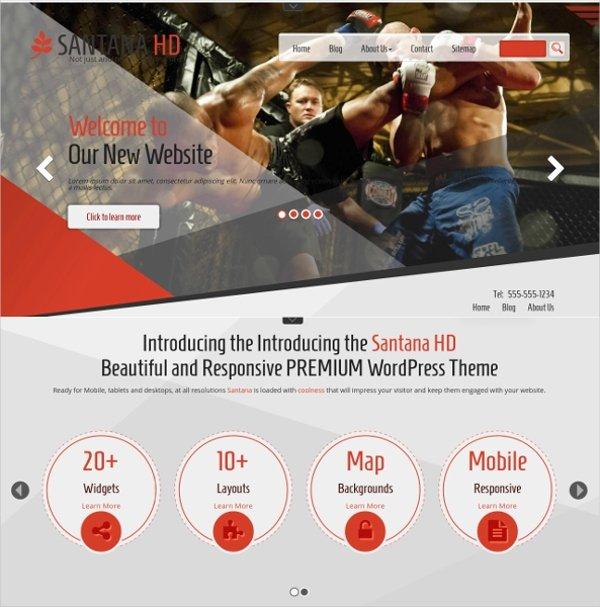 Martial Arts Wordpress theme Inspirational 14 Martial Arts Wordpress themes & Templates
