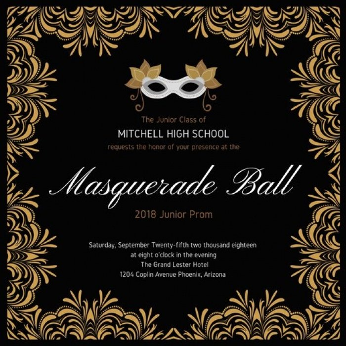 Masquerade Ball Invitations Free Templates Awesome Beautiful Masquerade Party Invitation Templates Gallery Mericahotel