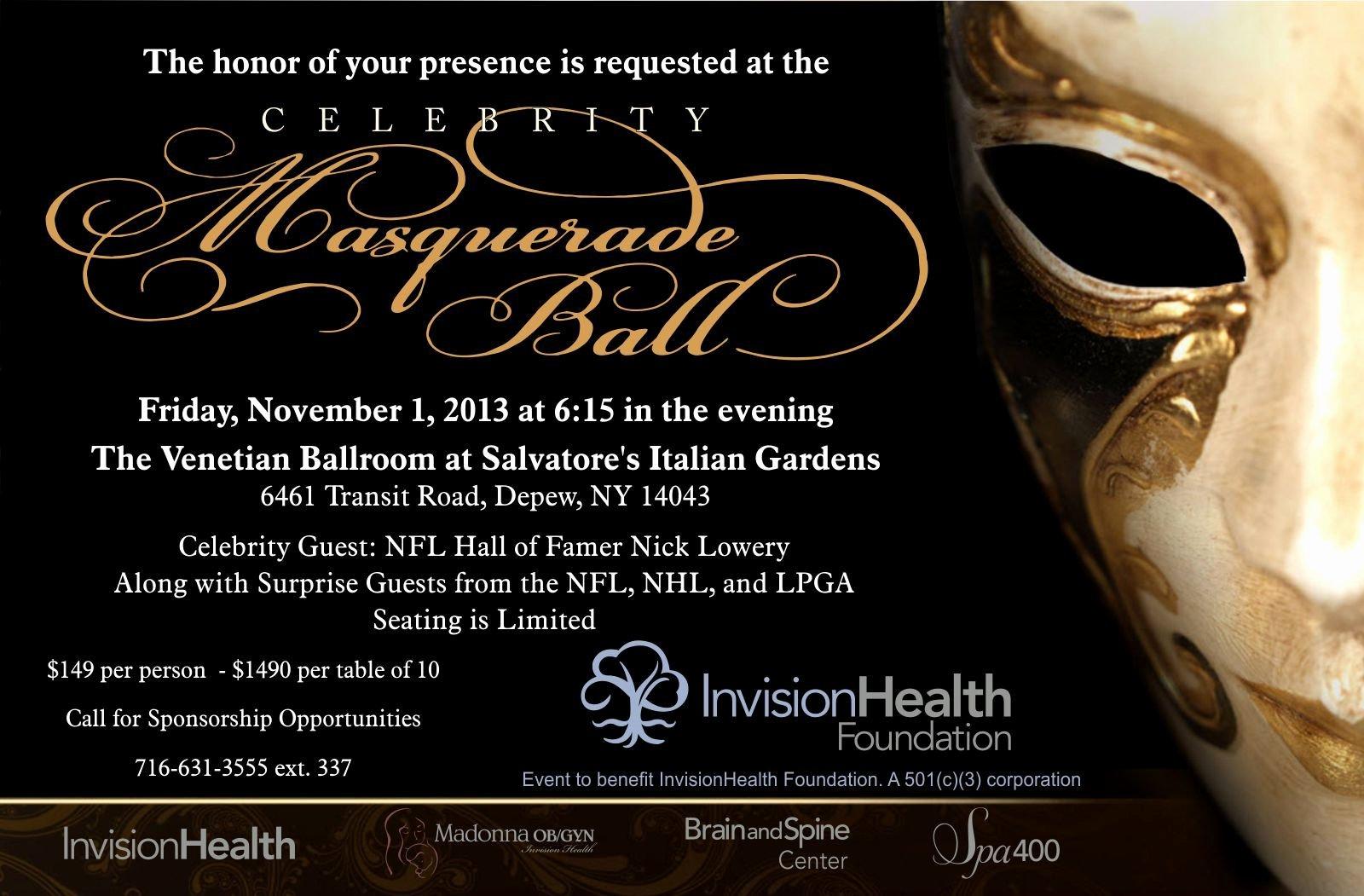 Masquerade Ball Invitations Free Templates Best Of for Blank Masquerade Ball Invitations event Planning