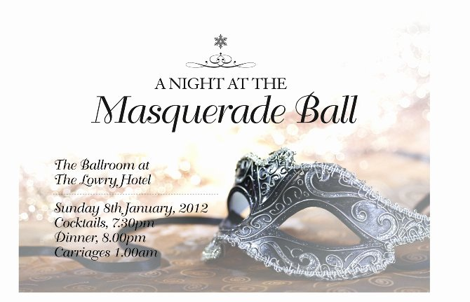 Masquerade Ball Invitations Free Templates Lovely Masquerade Party Invitations Templates
