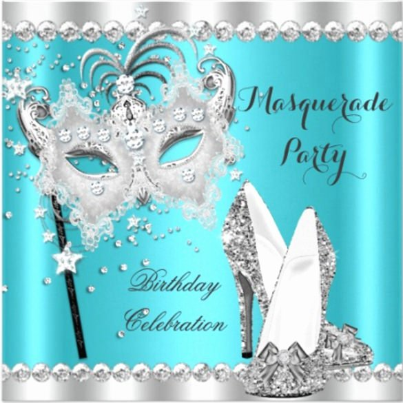 Masquerade Ball Invitations Free Templates Unique 24 Masquerade Invitation Templates Word Psd Ai Eps