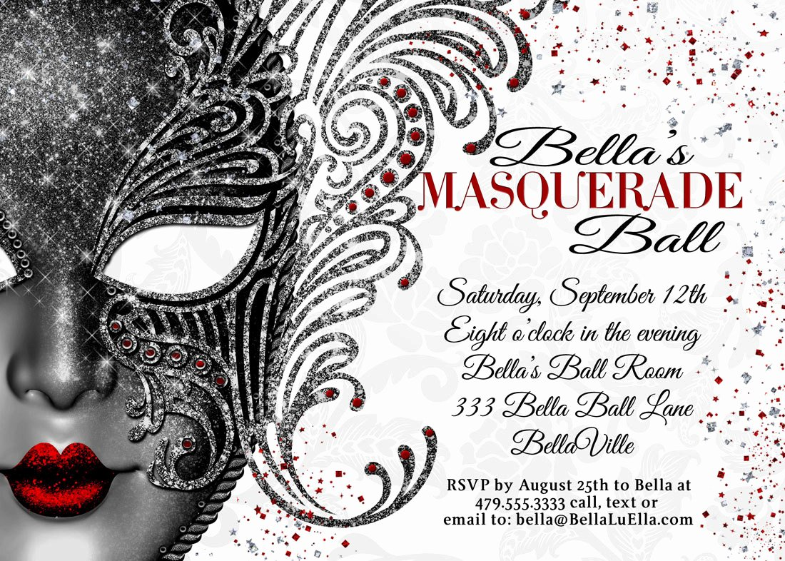 Masquerade Ball Invite Wording Awesome Masquerade Party Masquerade Invitation Mardi Gras Party