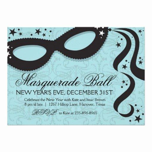 "Masquerade Ball Invite Wording Beautiful Masquerade Ball Invitations 5"" X 7"" Invitation Card"