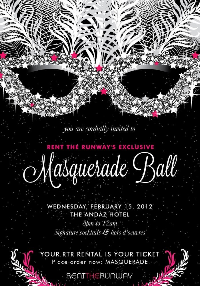 Masquerade Ball Invite Wording Fresh Masquerade Ball Invitation