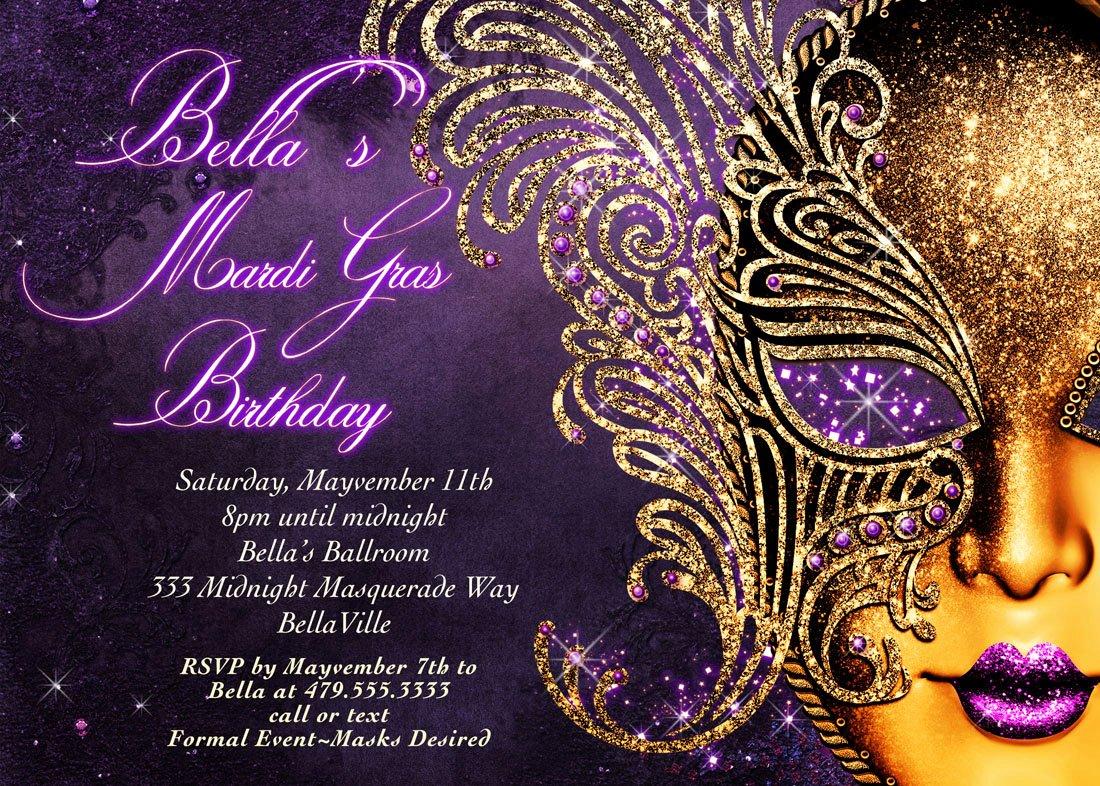 Masquerade Ball Invite Wording Inspirational Masquerade Invitation Mardi Gras Invitation Masquerade