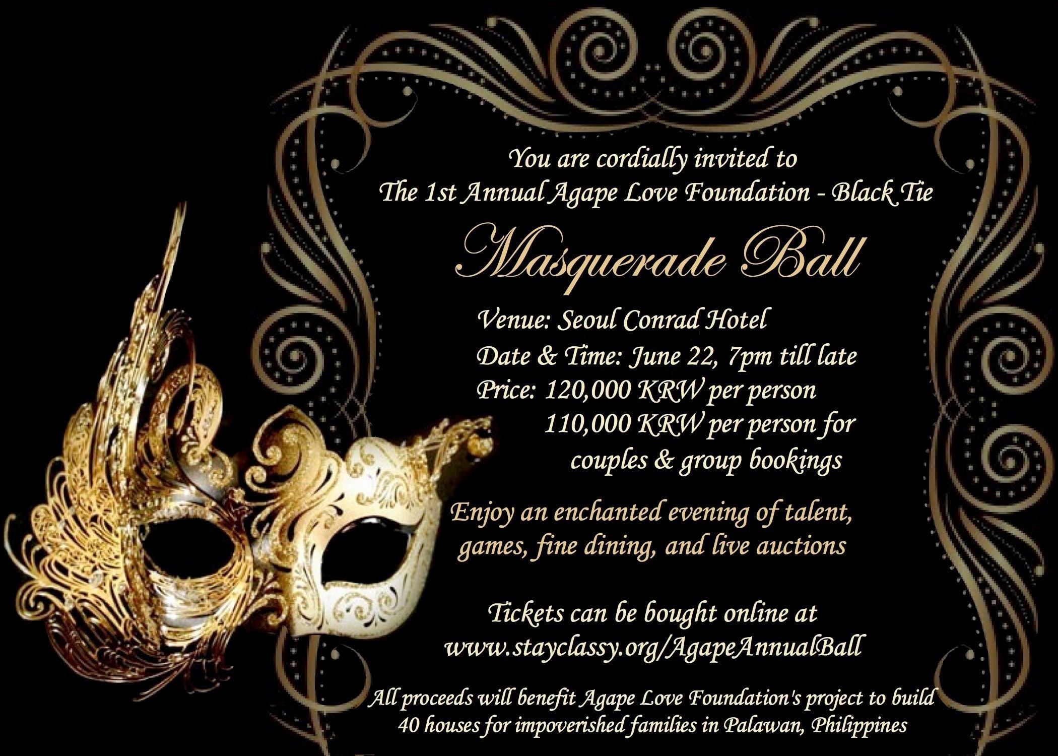 Masquerade Ball Invite Wording Luxury Invite Masquerade Ball Pinterest