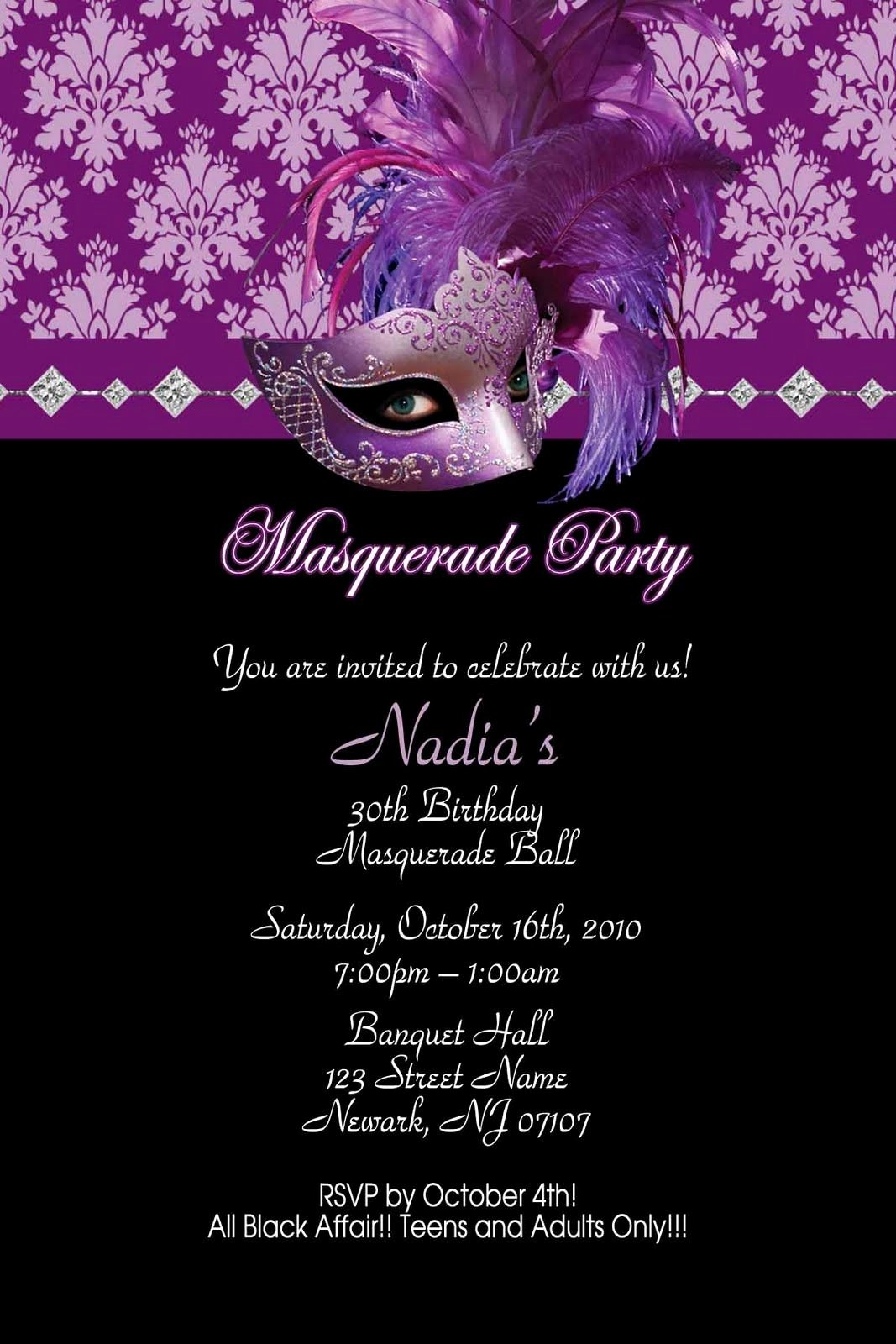 Masquerade Invitations for Sweet 16 Awesome Pin On Shyanne and Madi Masquerade
