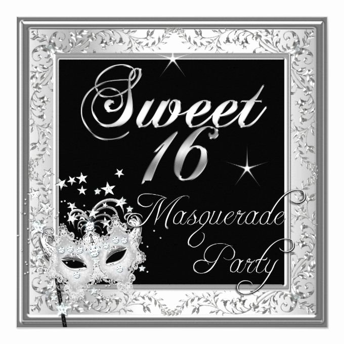 Masquerade Invitations for Sweet 16 Unique 17 Best Images About Sweet Sixteen Invitations On