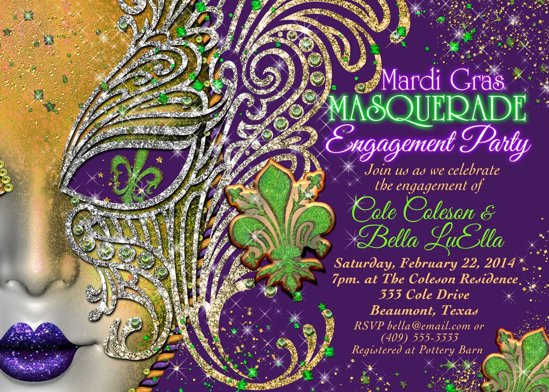 Masquerade Invitations Template Free Fresh Quinceanera Masquerade Party Birthday Masquerade Invitation