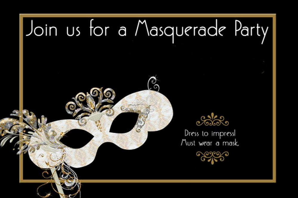 Masquerade Invitations Templates Free Fresh How to Design Masquerade Party Invitations