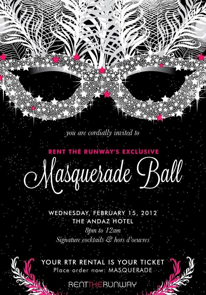 Masquerade Invitations Templates Free Fresh Masquerade Ball Invitation