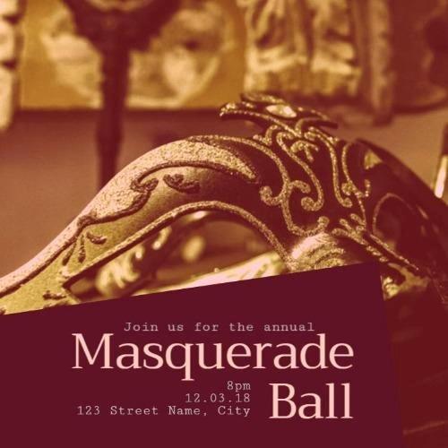Masquerade Party Invitation Wording Luxury Design A Masquerade Party Invitation From Our Templates