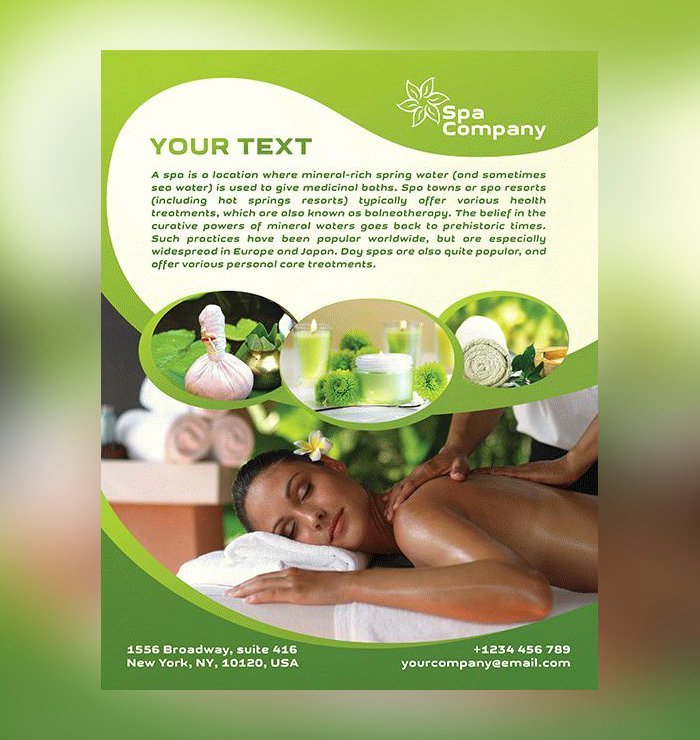Massage Flyer Template Free Awesome 17 Spa Flyer Psd Templates Free & Premium Designyep