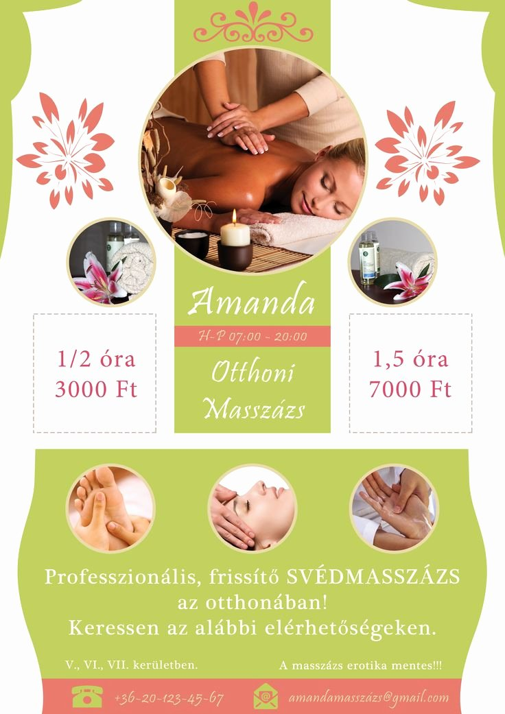 Massage Flyer Template Free Beautiful 25 Best Images About Massage Flyer On Pinterest